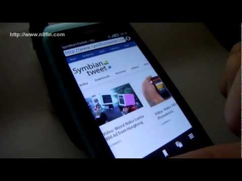Nokia N8, Symbian Belle & Nokia Browser 7.4.1.8 (Faster Browser! Java Disable!)