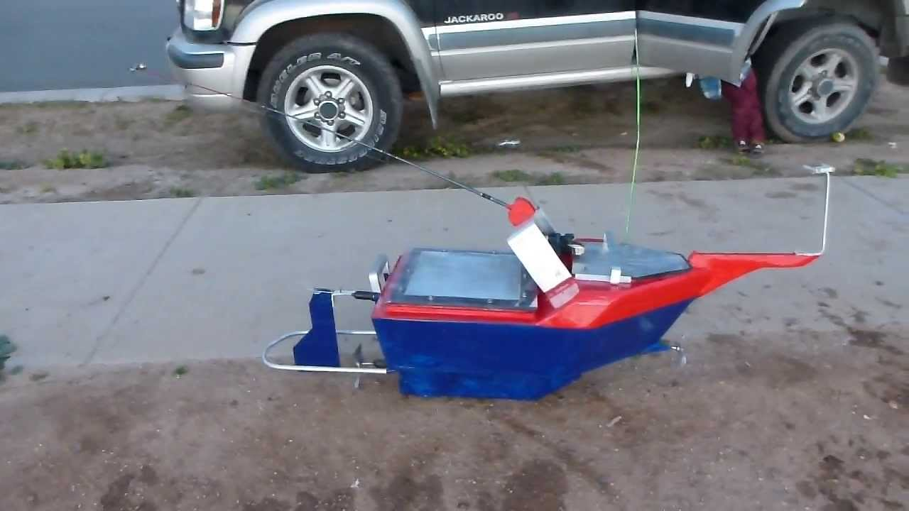 Remote Control Fishing Boat Finished Product