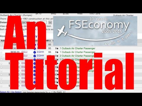 Fseconomy Beginner'S Planning Guide: An Fse And Skyvector Basic