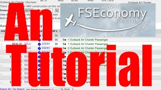 FSEconomy Beginner's Planning Guide: An FSE and Skyvector Basic Tutorial