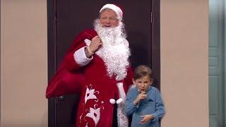 Новый год типичного Деда Мороза. Семья заказала для сына новогоднее настроение. Год свиньи 2019 юмор
