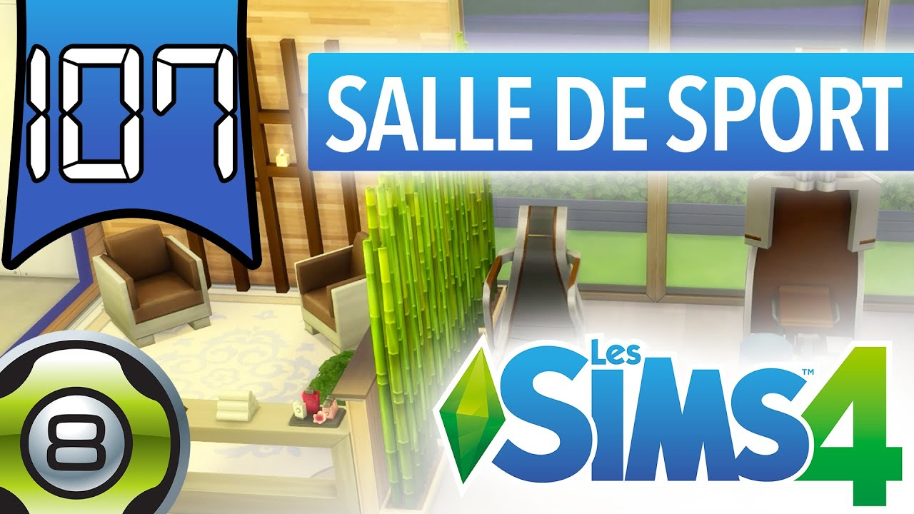les sims 4 fr salle de sport zen youtube. Black Bedroom Furniture Sets. Home Design Ideas