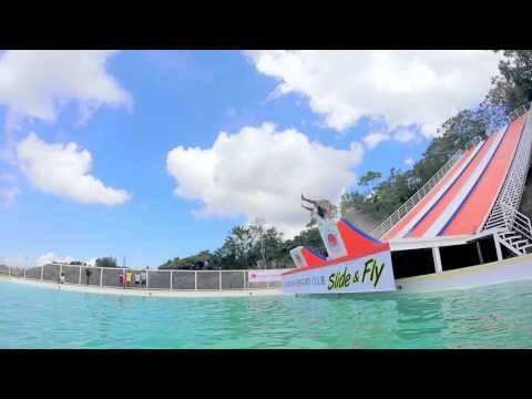 CALIRAYA RESORT CLUB'S  SLIDE & FLY OFFICIAL VIDEO