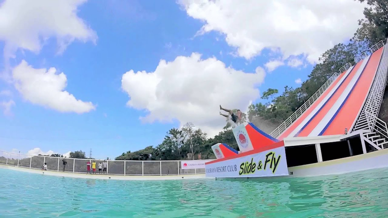Caliraya Resort Club S Slide Fly Official Video Youtube
