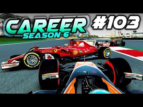 DIFFICULT RACE! - F1 2017 Career Mode Part 103