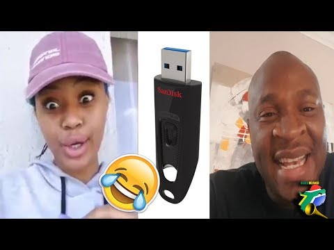 South Africans take on Babes Wodumo usb challenge