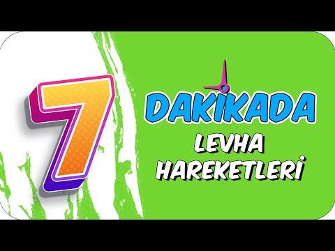 7dk'da LEVHA HAREKETLERİ