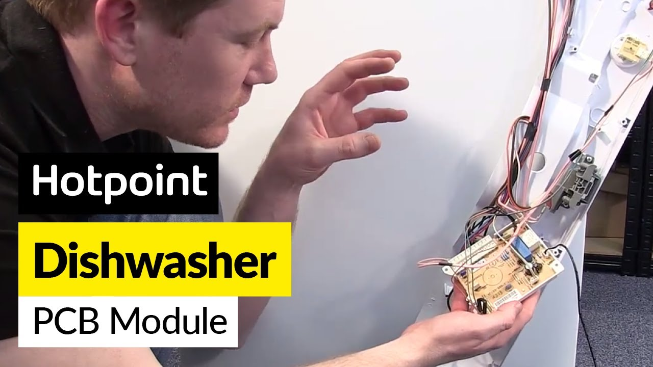 Hotpoint Dishwasher Wiring Diagram Modern Design Of Washer How To Replace A Control Board Indesit Youtube Rh Com Aquarius