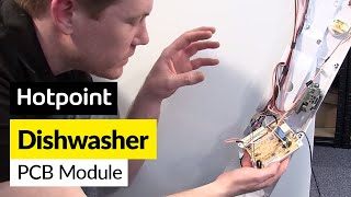 how to replace a dishwasher control board hotpoint indesit
