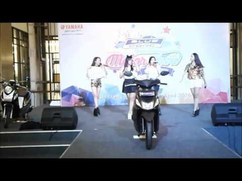 4tunes perform on Yamaha motor show 2016 at tangerang city mall