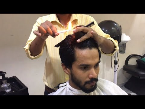 Fire Haircut By Indian Barber Gulzar