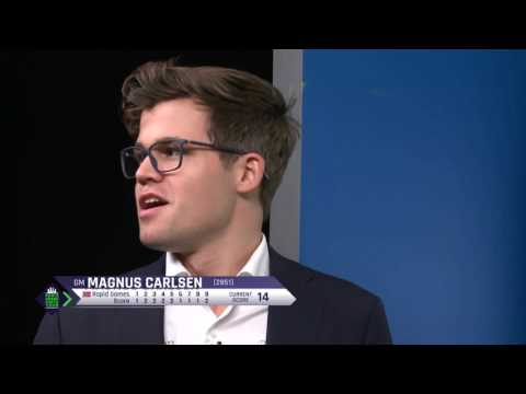 Magnus Carlsen : What do you want me to do??