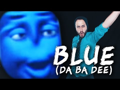 BLUE DA BA DEE (Eiffel 65) - Metal cover version by Jonathan Young & ToxicXEternity