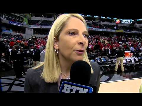 Brenda Frese Talks B1G Tournament Victory Over Northwestern