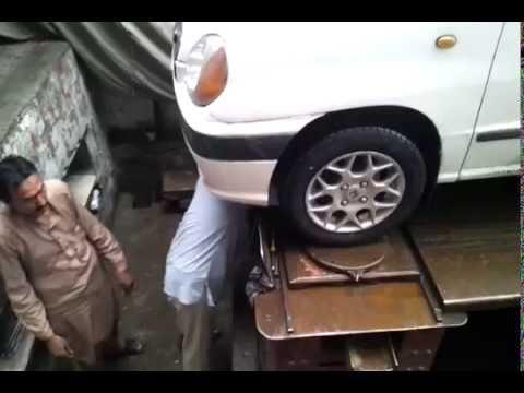 Hyundai Santro Club Brand New Tyres Alignment Youtube