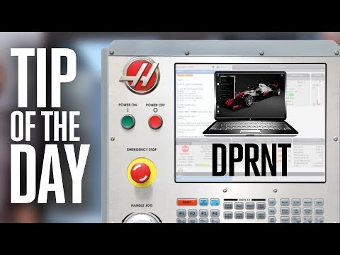 Output Your Machine Data for Analysis – Haas Automation Tip of the Day