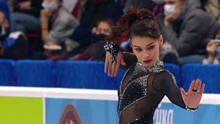 Софья Самодурова Произвольная программа Женщины Чемпионат России по фигурному катанию 2021