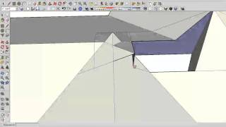 Allplan и SketchUp - делаем крышу