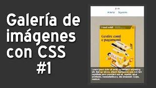 Crear una galería de imágenes con CSS y jQuery #1