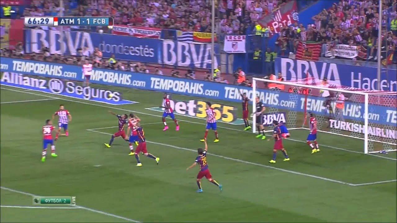Атлетико   Барселона обзор матча 12 09 2015