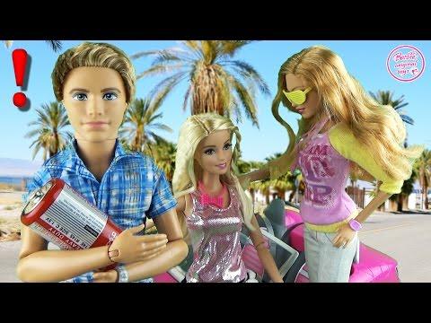 Мультфильм с куклами Барби. Подарок от Кена Дом мечты. Видео для детей 18