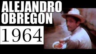 1964 ALEJANDRO OBREGON  PINTANDO MURAL