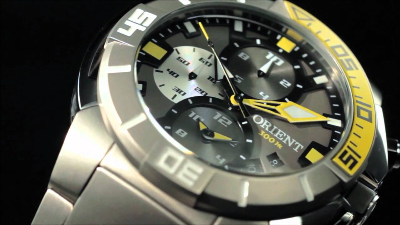 e7dbb15ad8f Orient SeaTech - by www.newlooktime.com.br - YouTube