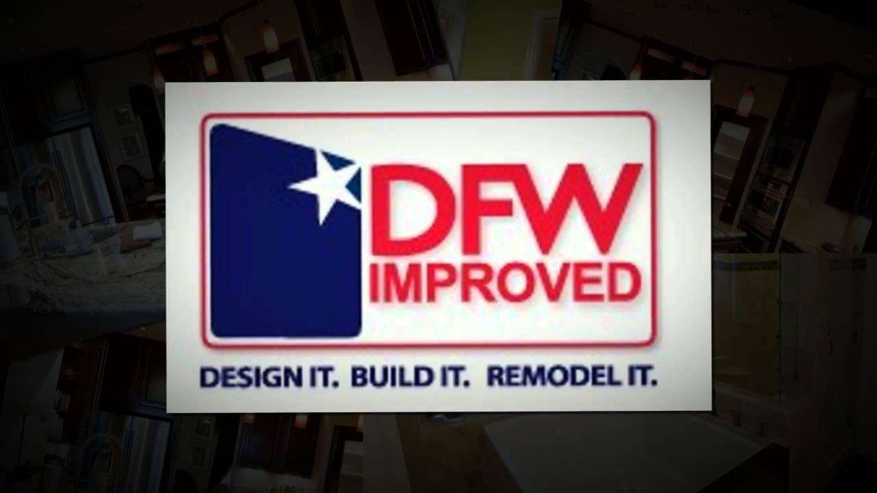 Bathroom Remodeling by DFW Improved 972-377-7600 - YouTube