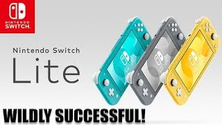 The Nintendo Switch Lite Has Sold Extremely Well!