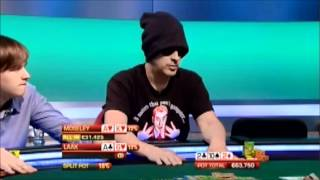 Phil Laak mucks €63,750 Winner live at the Big Game - April 12, 2012
