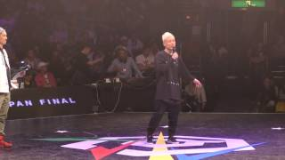 SHUHO(TOKYO FOOTWORKZ) WINNER interview / DANCE@LIVE 2016 FINAL