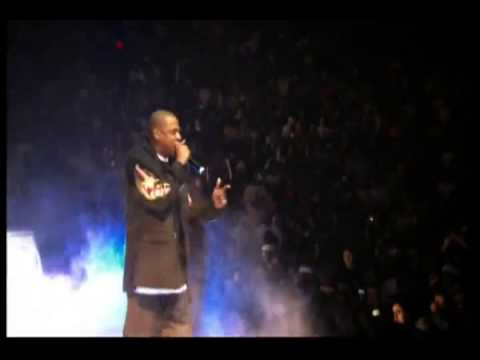 Jay-Zs Live show footage at Madison Square Garden on 25th November 2003