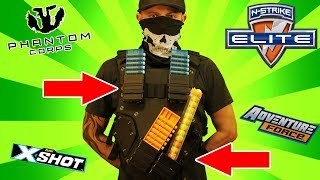 N-Strike Tactical Vest Review & Stress Test with Gun Baby!