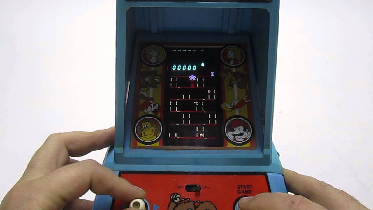 vintage donkey kong tabletop game jpg 1080x810