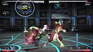 Mortal Kombat X - Ермак Мистик Комбо Урок (Ermac Mystic)