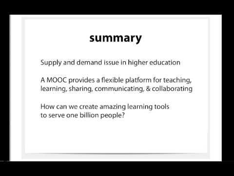 The Future of MOOCs: Motivations, Models, And Monetization