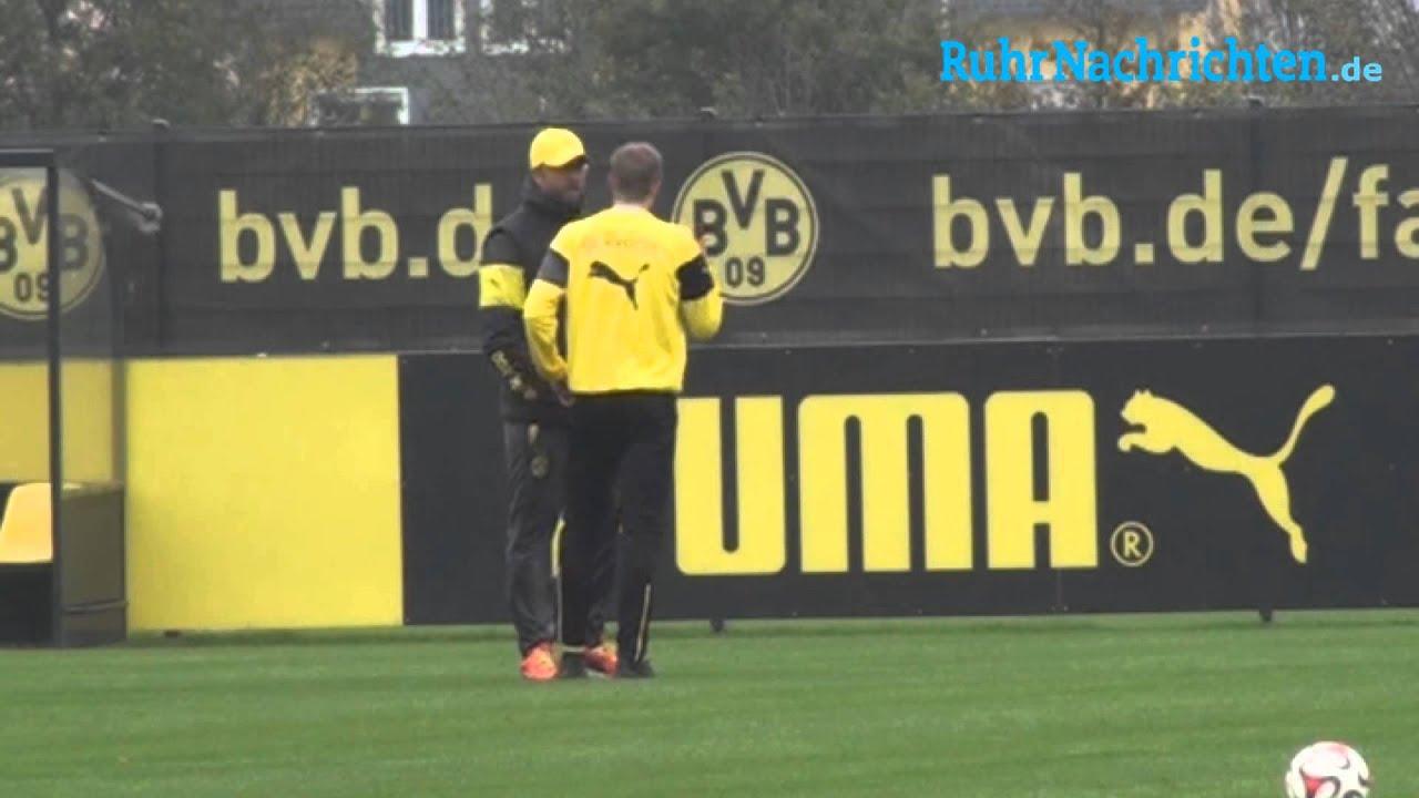 BVB-Training mit Aubameyang und Gündogan (29.10.)