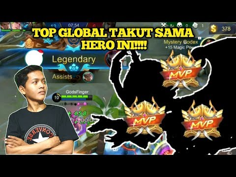 TOP GLOBAL PASTI BAN HERO INI KARENA TAKUT!!! - MOBILE LEGENDS BANG BANG thumbnail