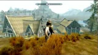 Lets Play Skyrim HD Part 86: Drawing on Cows