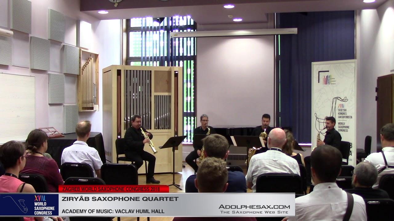 Hommagepour le tombeau de Couperin by Manuel de Falla   Ziryâb Saxophone Quartet   XVIII World Sax