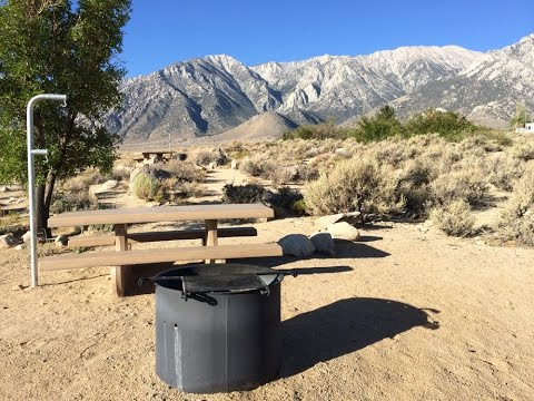 Tuttle Creek Campground and Recreation Site, Lone Pine, California