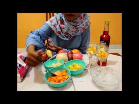 How To Make Fruit Soup  (Isma Sawitri Ritonga)