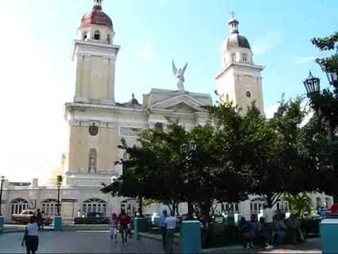 Cuba Travel - Santiago de Cuba: Parque Cespedes, the Main Square
