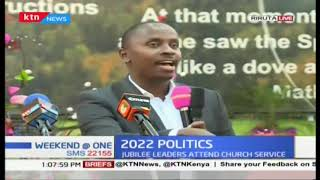 Section of top Jubilee leaders talk 2022 politics