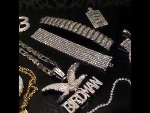 Birdman Shows Off His 50 Million Jewelry Collection