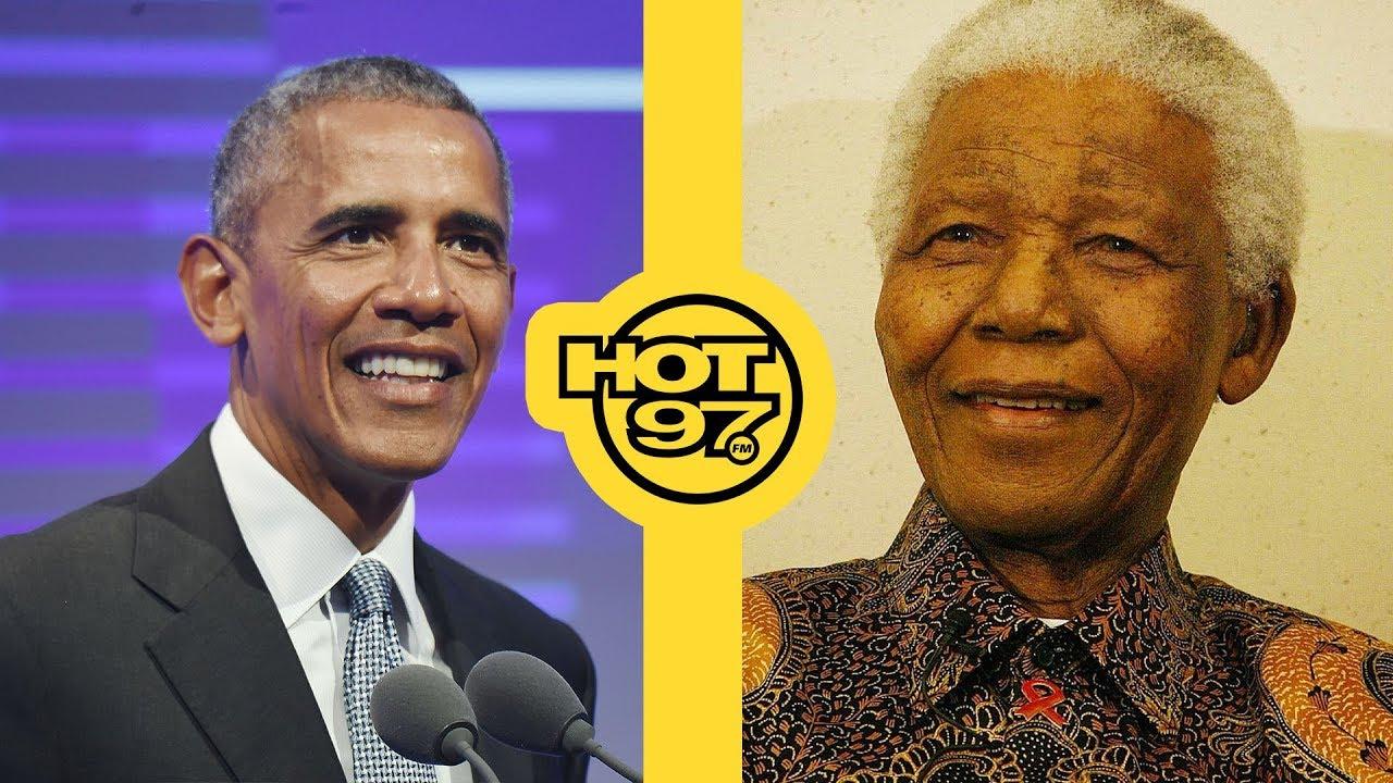 Former President Barack Obama Blasts Trump & Honors Nelson Mandela