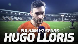 HUGO LLORIS ON DRAMATIC FULHAM VICTORY | INTERVIEW | Fulham 1-2 Spurs
