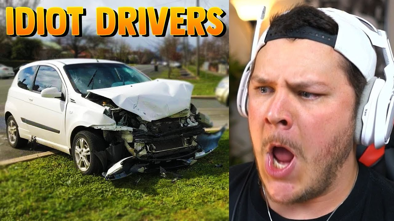 when-idiots-drive-cars-reaction