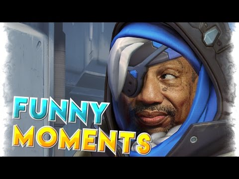 Hilarious Overwatch Moments Montage | Overwatch Funny,Fail And WTF Highlights