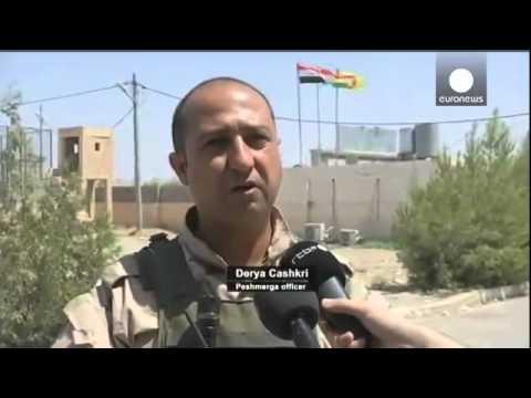 Iraq  US air strikes back Kurd push to retake Mosul dam